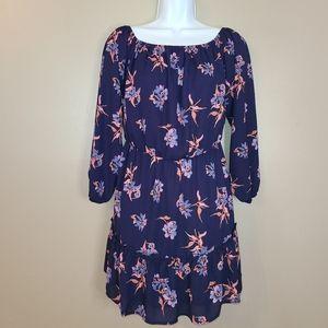 🌻2/$20 Altar'd State Peasant Floral Print Dress
